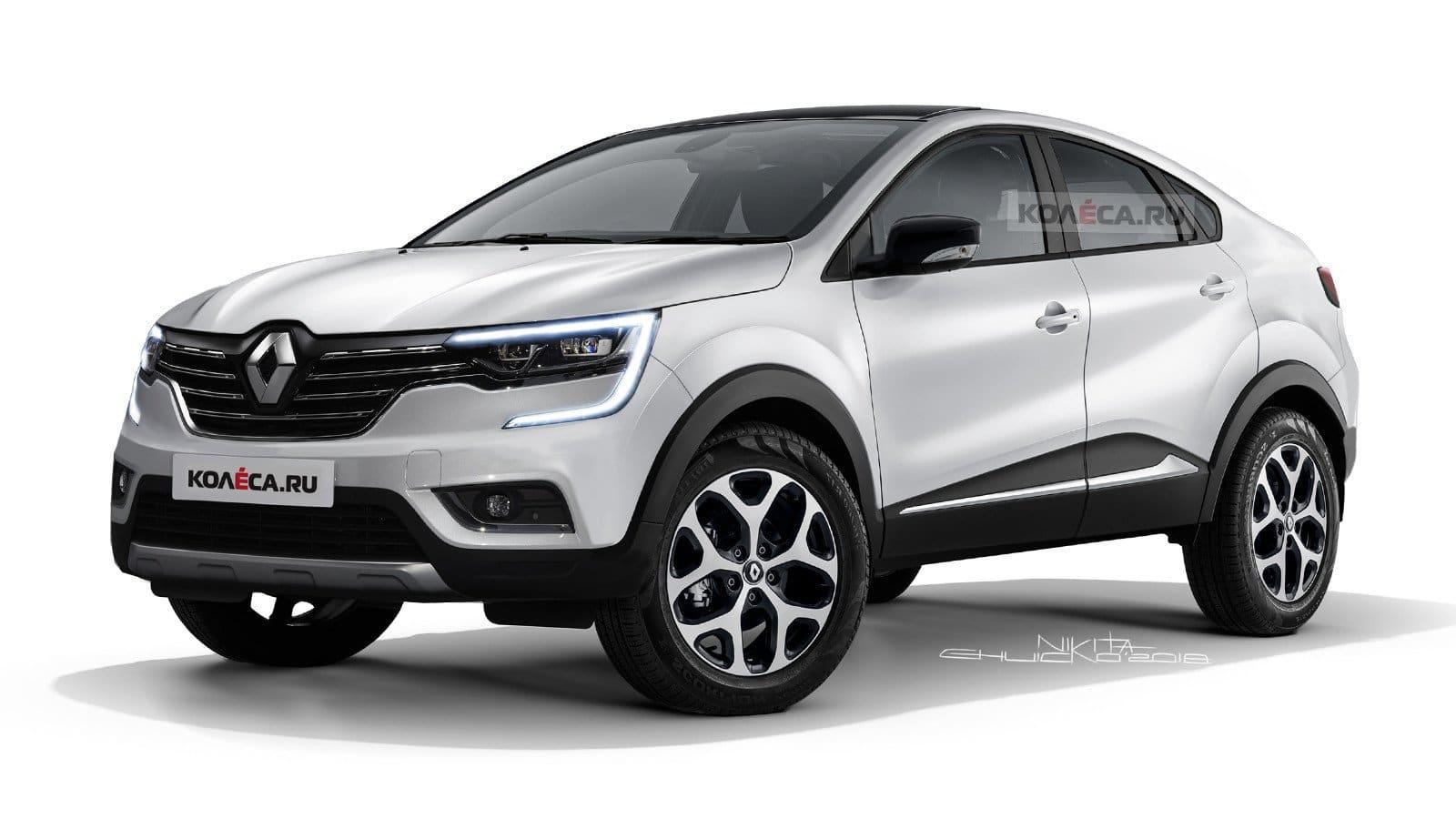 Renault Arkana Biała Perła
