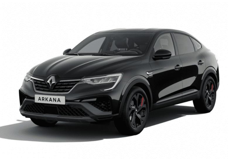 Renault Arkana Czarny -Wypożyczalnia Samocodów
